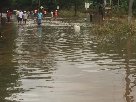 Water levels in Nivithigala